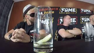 Daniel Magical* -wkurw Na Konferencji FAME MMA (GOPRO)