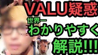ヒカルVALU騒動を世界一分かりやすく徹底解説!!!