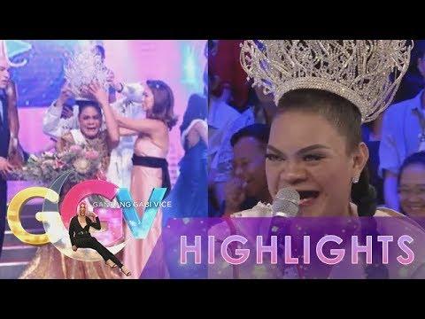 GGV: Juliana laughs at her Miss Q & A winning moment photos