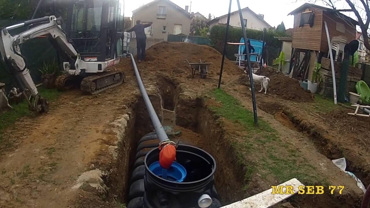 installation d 39 un r cup rateur d 39 eau de pluie avec le