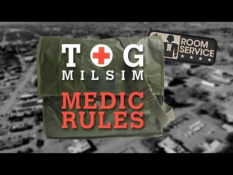 TOG Milsim Medic Rules