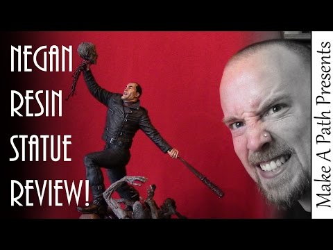 The Walking Dead NEGAN Resin Statue Review - Mcfarlane Toys & Skybound