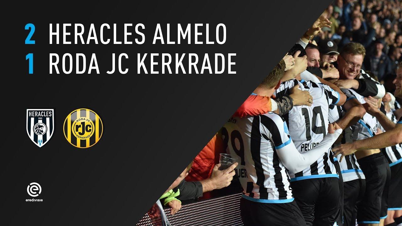 Heracles Almelo - Roda JC 2-1 | 23-09-2017 | Samenvatting