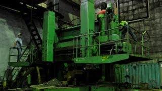ТАКЕЛАЖНЫЕ РАБОТЫ - Переезд производственной линии (3 станка общей массой 134 тонны)(, 2013-09-10T03:58:59.000Z)