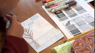 Відео-урок образотворчого мистецтва (Фрагмент 2)