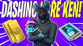 NEW Easter Egg Kunai Ninja! Dashing Hare Ken Hero Review | Fortnite Save The World