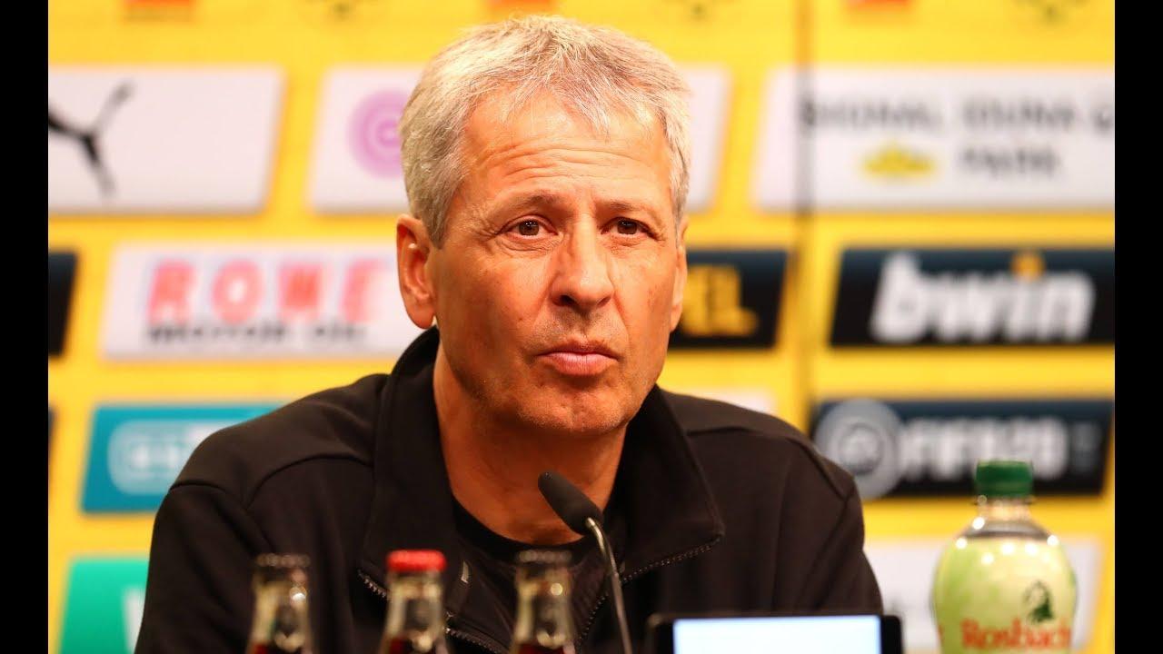 BVB-Pressekonferenz mit Favre und Schmidt