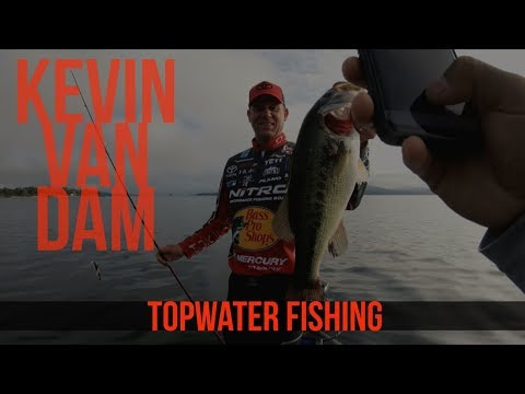 Topwater Fishing With Kevin VanDam On Table Rock Lake