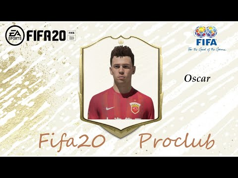 FIFA 20 Oscar Look Alike In Shanghai SIPG // Fifa20 Pro Club