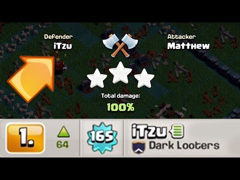 TOP PLAYER IN THE WORLD 3 STARRED | Clash of Clans | Best Attack Strategy