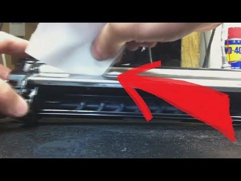 Как почистить блок проявки Kyocera DV-1110