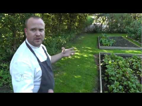 Daniel Berlin presents his restaurant and organic garden