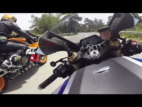 Don't Mess With My Yamaha R1M 😠 SuperBike Racer OnBoard 😈