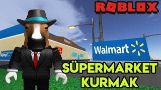🏪 We're Building Our Own Supermarket (Walmart🏪 | Walmart Tycoon | Roblox English