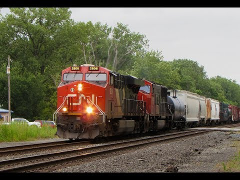 Road Trip Railfanning in August 2017