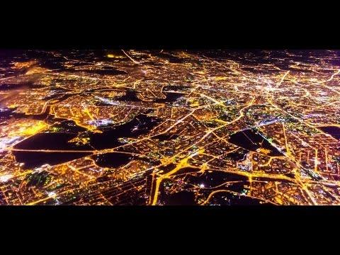 45 ночных мегаполисов мира l Панорамы + фото со спутника
