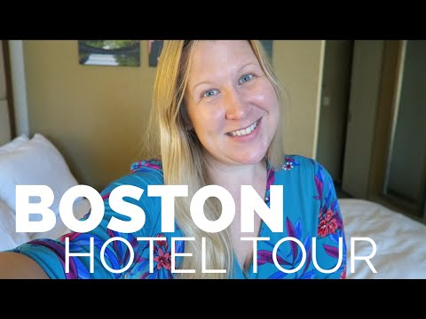 Where I Stay In Boston | Marriott Copley Place (hotel + Room Tour)