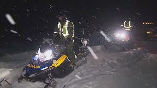 Search underway after snowmobilers go through ice in Quebec