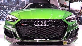 2019 Audi RS5 Sportback - Exterior and Interior Walkaround - 2018 New York Auto Show