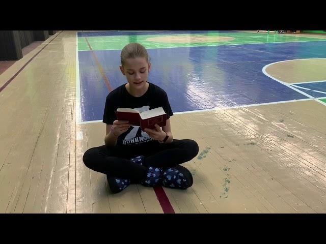 Наталья Клягина читает произведение «Все лес и лес. А день темнеет...» (Бунин Иван Алексеевич)