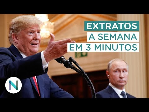 Extratos: a disputa eleitoral esquenta. Trump e Putin se reúnem. E mais