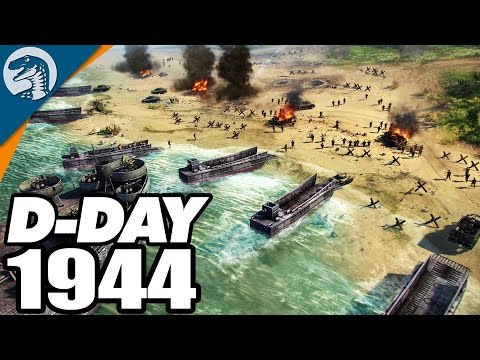 D-DAY: ALLIED BEACH LANDINGS 1944   Blitzkrieg 3 Campaign Gameplay