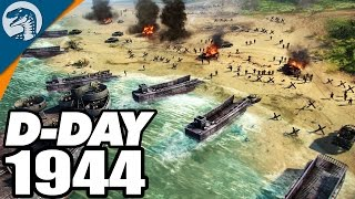 D-DAY: ALLIED BEACH LANDINGS 1944 | Blitzkrieg 3 Campaign Gameplay
