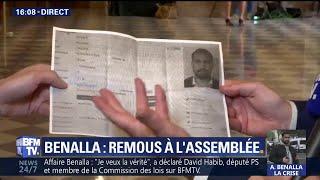 Alexandre Benalla doté d'un badge d'accès à l'Assemblée: l'opposition réclame des comptes