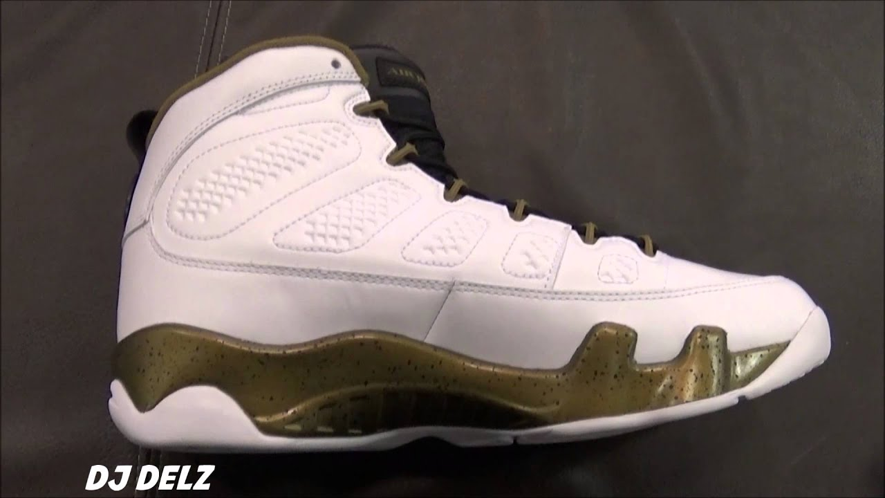 new product dbf90 80c82 ... release date air jordan 9 statue aka the spirit green militia shoe  review with djdelz youtube