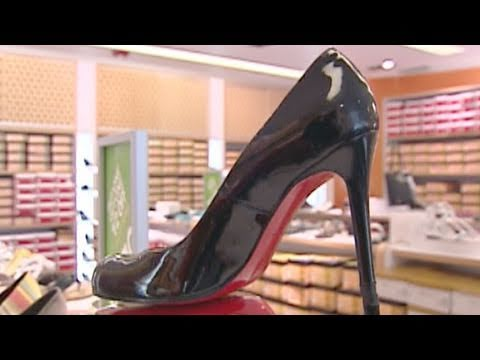 9748d76551d3 Christian Louboutin Sues YSL Competitor Over Trademark - YouTube