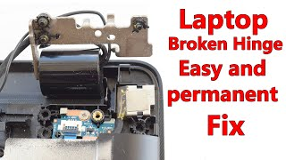 How to Fix Laptop Broken Hinges Easy and Permanent
