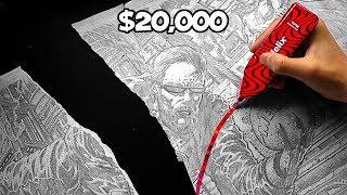 RIP $20,000 Pewdiepie Art | ZHC