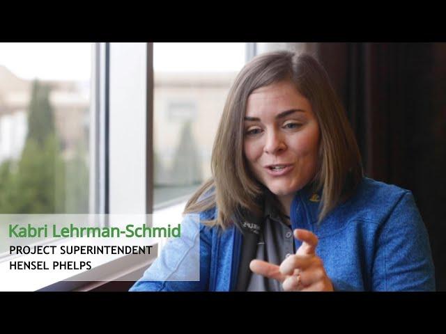 Senior Graduation Panelist - Kabri Lehrman Schmid - Hensel Phelps