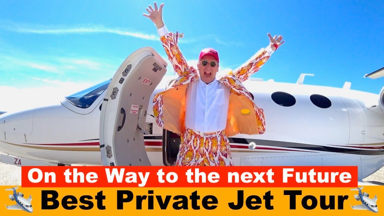 Best Private Jet Tour 🛩  On the Way to the next Future 🛩  Der HON PrivateJet