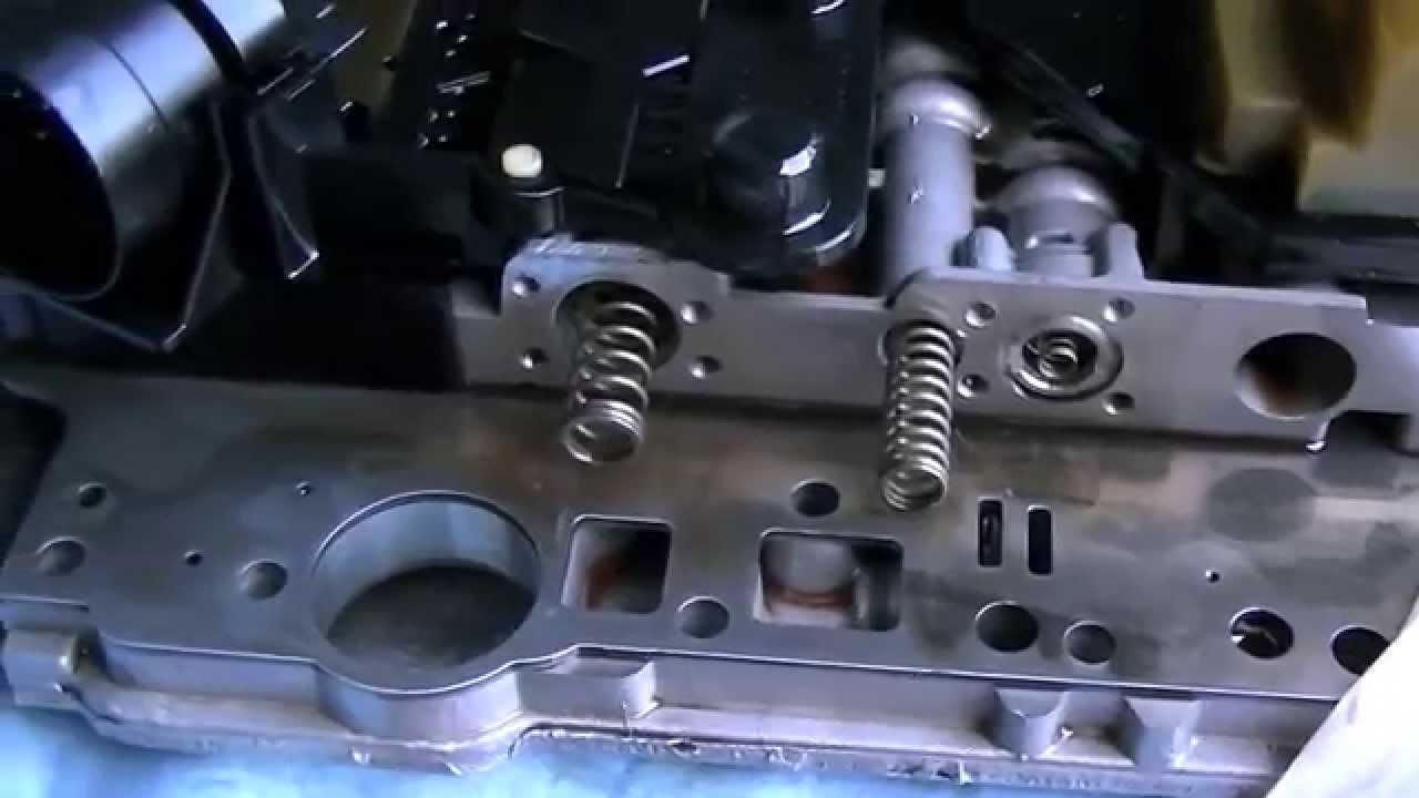 Mercedes 722 6 Transmission Sonnax Valve Overlap Control Sleeve Install