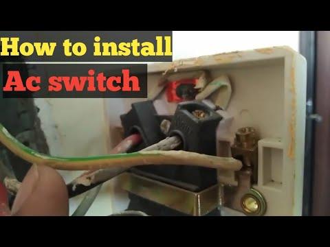 Paano mag install ng ac/aircon switch/breaker sa aboard TUTORIAL
