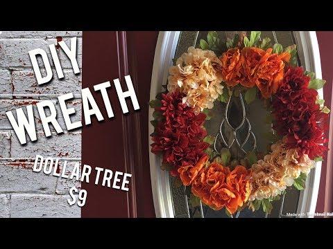 DIY Fall Wreath for $9
