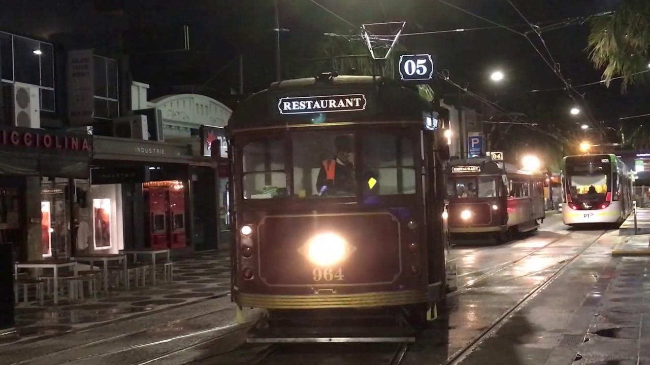 melbourne restaurant trams youtube. Black Bedroom Furniture Sets. Home Design Ideas
