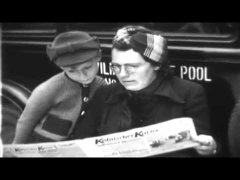 Post WW2 Cologne, Germany, 1945: SHAEF News; Wrecked Bank Vault; Refugees (full)