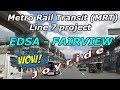 Metro Rail Transit (MRT) Line 7, March 2019 update! From Edsa to Fairview Quezon City, Metro Manila.