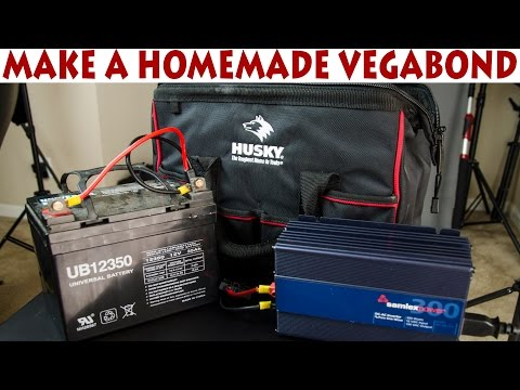 How to Make Homemade Vegabond (Power Supply) to Power Strobes in the Field