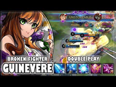 New Hero Guinevere Broken OP [by Doofenshmirtzz] Build & Gameplay ~ Top Global ~ Mobile legends