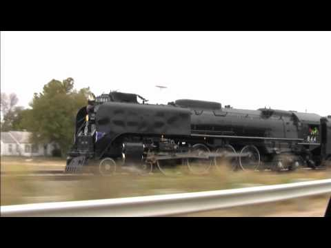 Union Pacific 844 Steam Locomotive Chase
