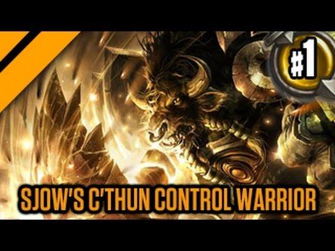 Day[9] HearthStone Decktacular #234 - Sjow's C'thun Control Warrior P1
