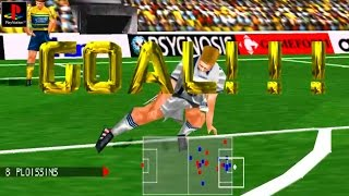 Adidas Power Soccer 98 - Gameplay PSX / PS1 / PS One / HD 720P (Epsxe)
