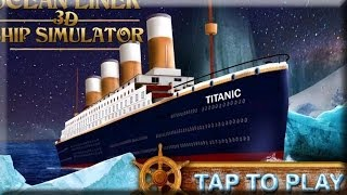 Ocean liner 3D ship simulator - Android Gameplay HD