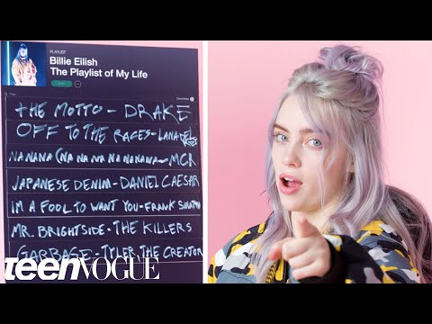 Billie Eilish Creates the Soundtrack to Her Life | Teen Vogu