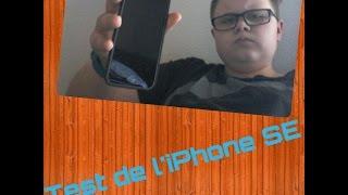 Test de l'iPhone SE