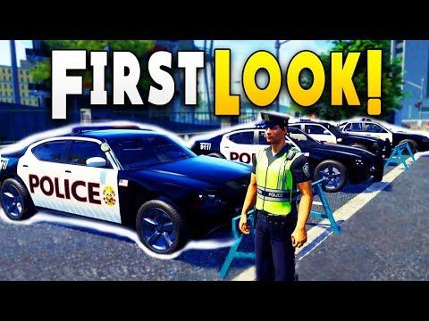 FIRST LOOK : BEST Police Simulator Game Ever - Police Simulator : Patrol Duty Gameplay