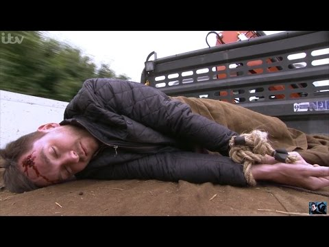 Emmerdale - Ross Beats & Kidnaps Pete